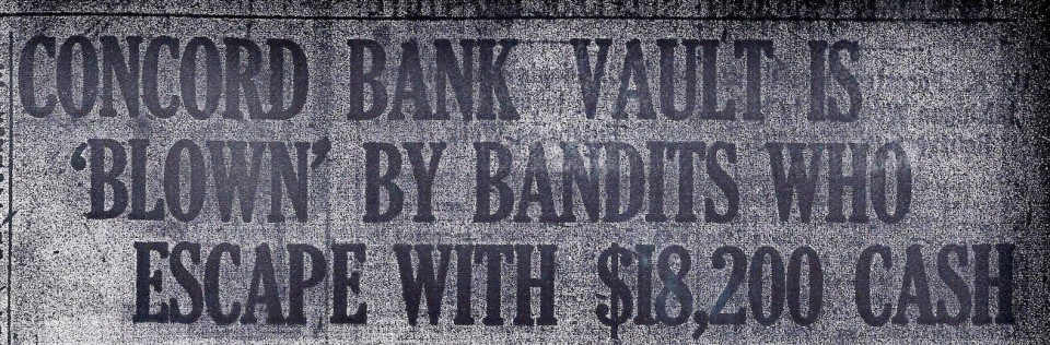 1917 Bank Robbery