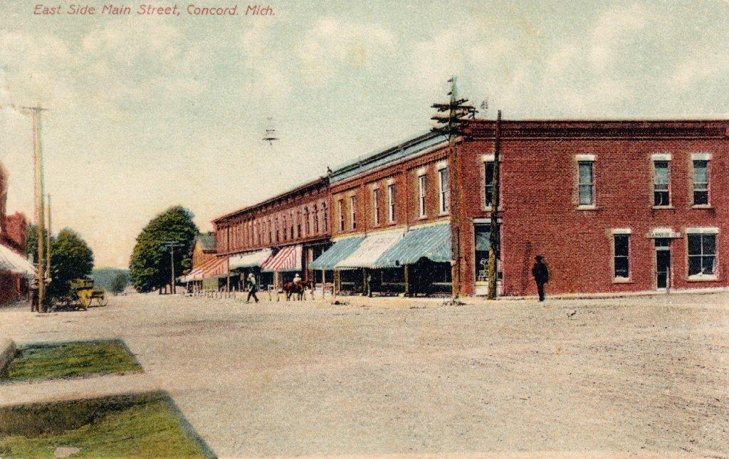 Concord East Side Main St 1909