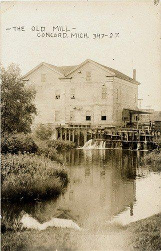 Concord The Old Mill 1910